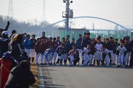 マラソン大会開催!